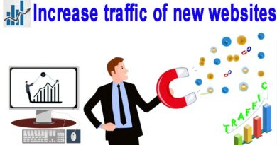 Increase traffic of new websites