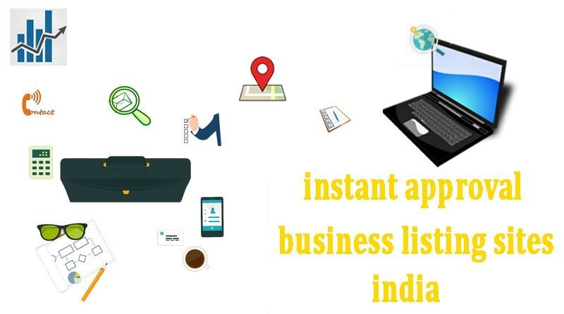 Instant approval business listing sites India