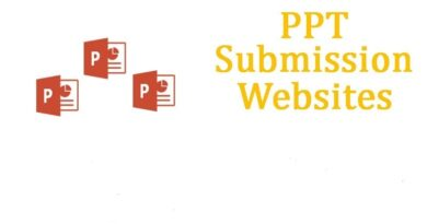 ppt submission websites