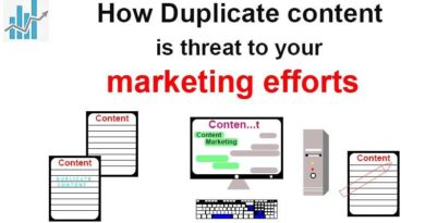 How Duplicate content is threat to your marketing efforts.