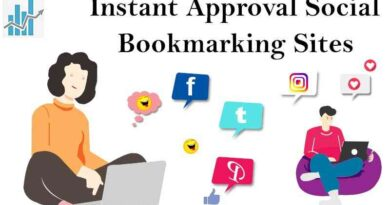Instant Approval Social Bookmarking Sites List